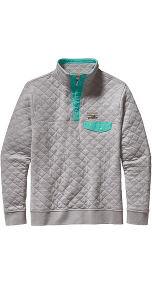 Patagonia M's Cotton Quilt Snap-T Pullover Drifter Grey